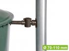 Collecteur d'eau Speedy, complet avec raccordement pour récupérateur d'eau, filtre et tuyau.